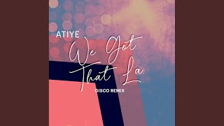 Atiye We Got That La (Disco Radio Mix)